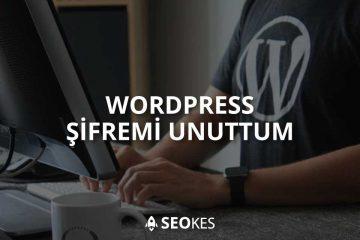 WordPress Şifremi Unuttum Nasıl Çözülür?