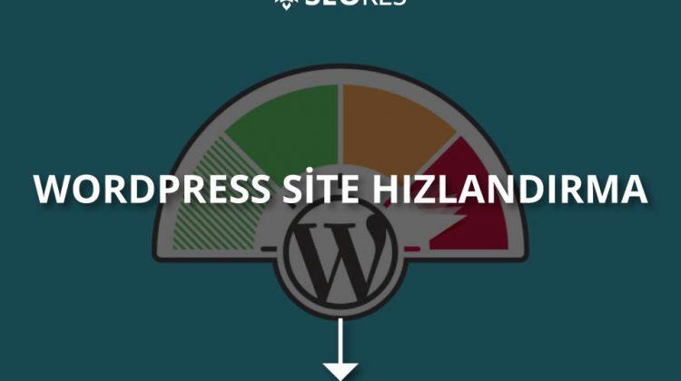 WordPress Site Hızlandırma Nasıl Yapılır?